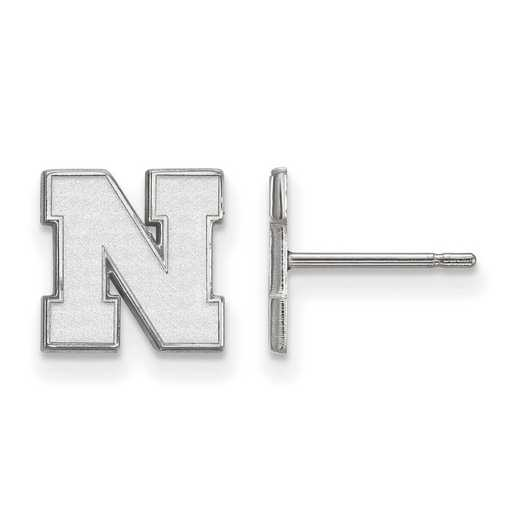 SS070UNE: 925 Nebraska XS Post Earrings