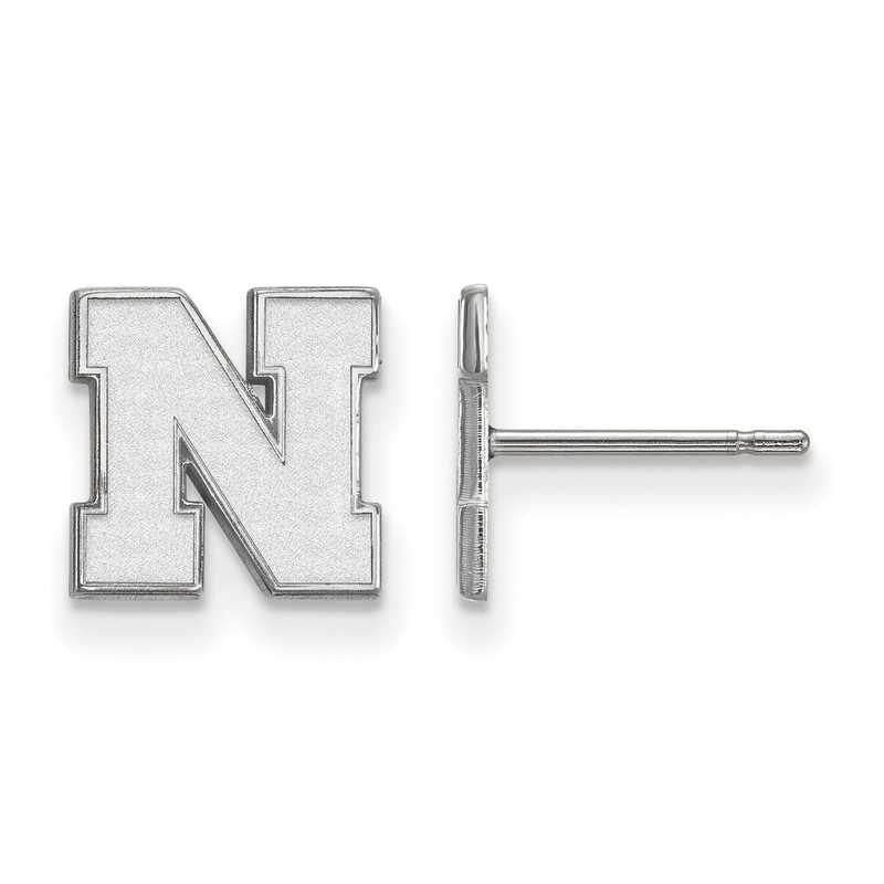 SS070UNE: 925 Nebraska XS Post Earrings