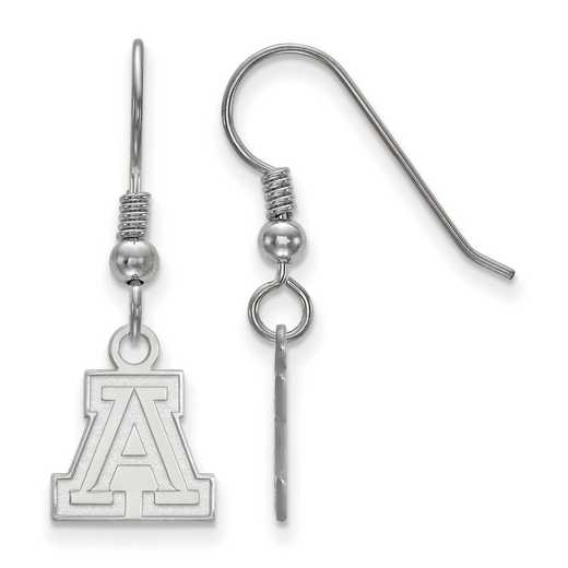 SS005UAZ: SS LogoArt Univ of Arizona XS Dangle Earrings