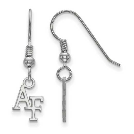 SS005USA: SS LogoArt U.S Air Force Academy XS Dangle Earrings
