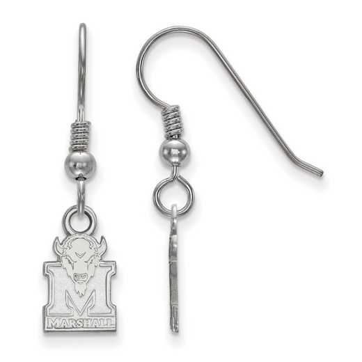 SS006MAU: SS LogoArt Marshall Univ XS Dangle Earrings