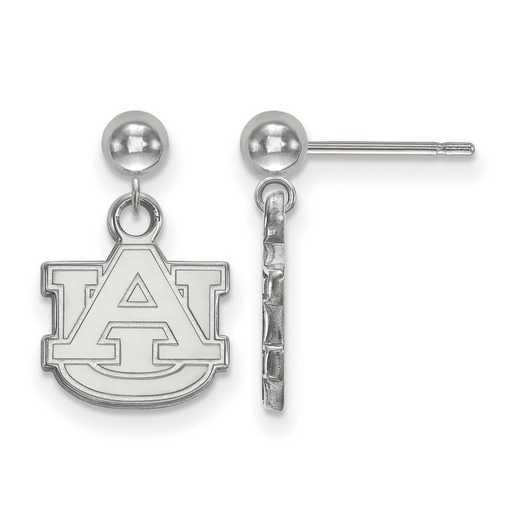 SS010AU: SS LogoArt Auburn Univ Earrings Dangle Ball
