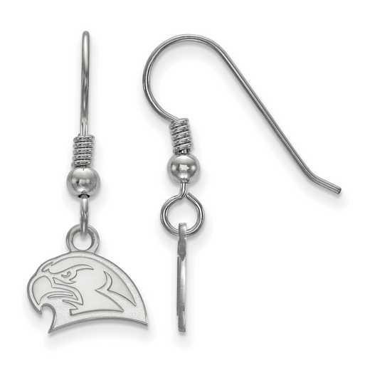 SS025MU: SS LogoArt Miami Univ XS Dangle Earrings