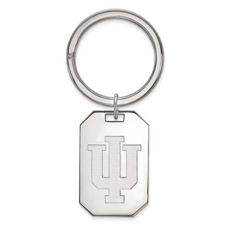 SS026IU: Sterling Silver LogoArt Indiana University Key Chain