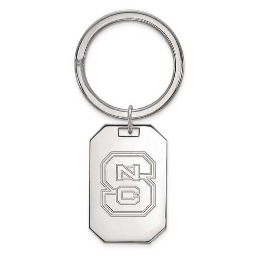 SS026NCS: SS LogoArt North Carolina State University Key Chain