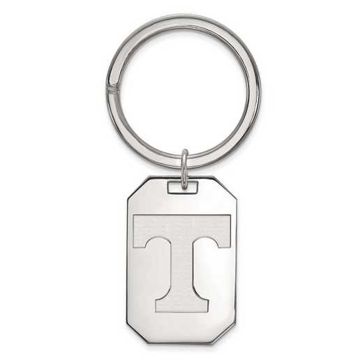 SS026UTN: Sterling Silver LogoArt University of Tennessee Key Chain