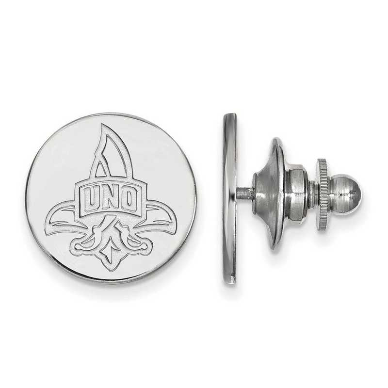 SS007UNO: SS LogoArt University of New Orleans Lapel Pin