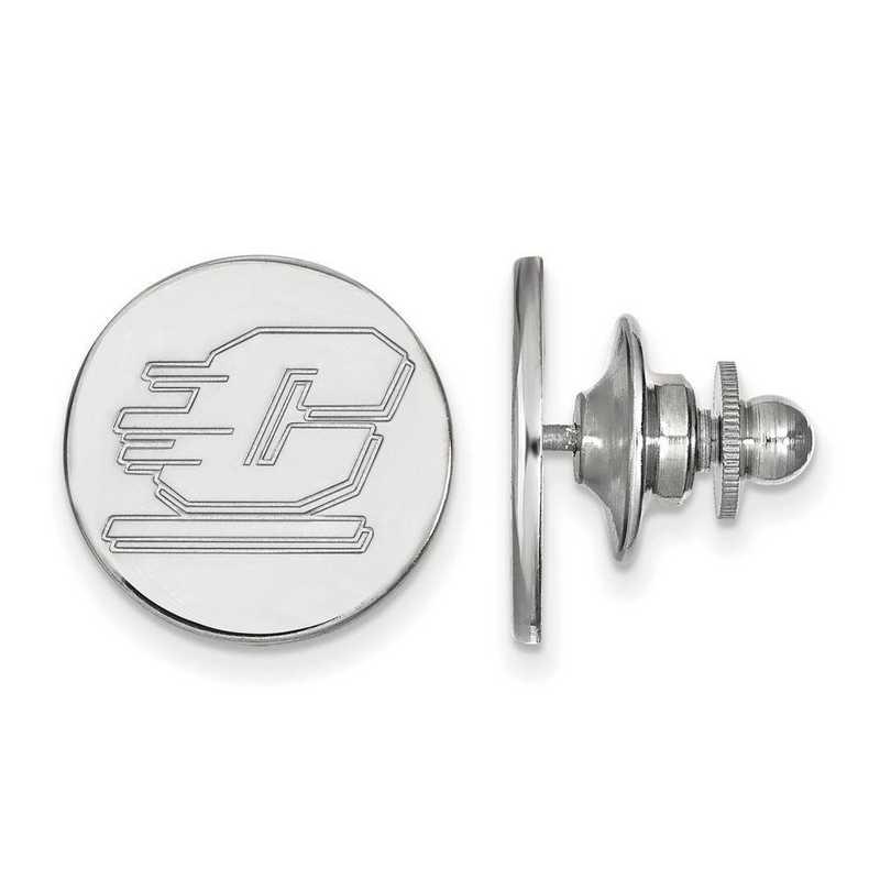 SS009CMU: SS LogoArt Central Michigan University Lapel Pin