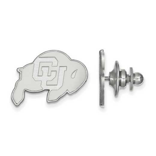 SS009UCO: SS LogoArt University of Colorado Lapel Pin