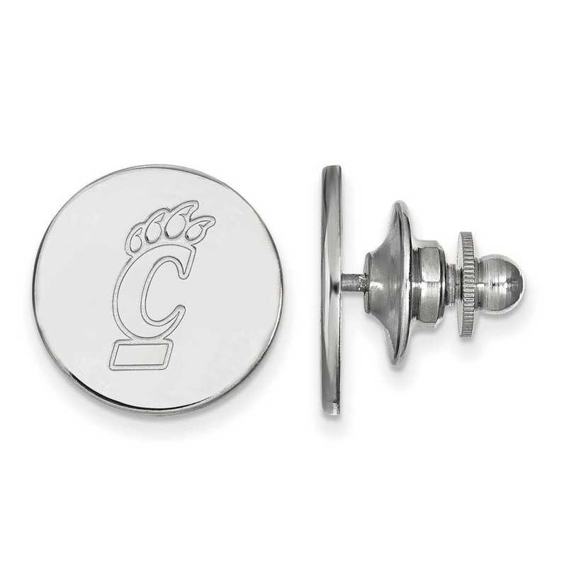 SS009UC: SS LogoArt University of Cincinnati Lapel Pin