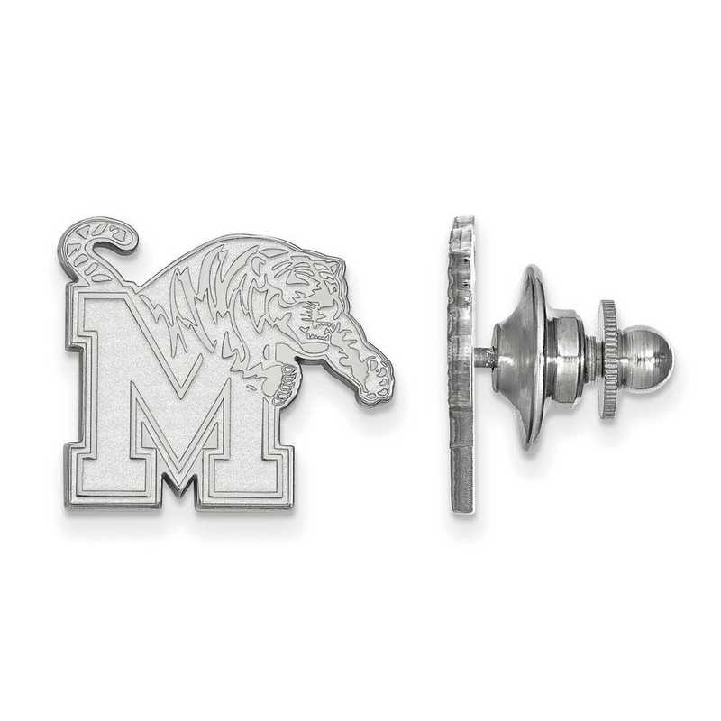 SS009UMP: SS LogoArt University of Memphis Lapel Pin