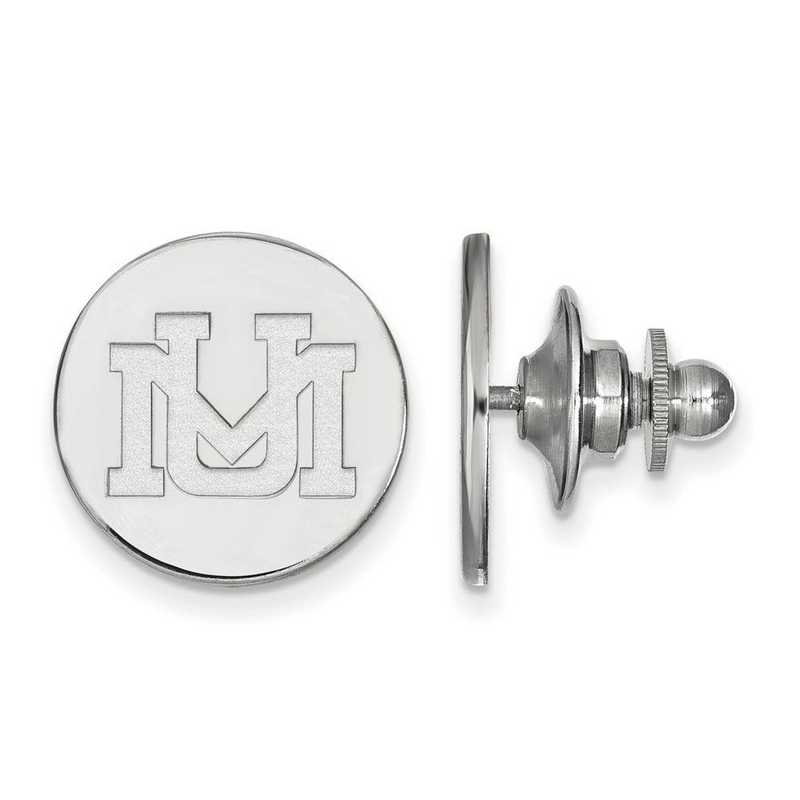 SS009UMT: SS LogoArt University of Montana Lapel Pin