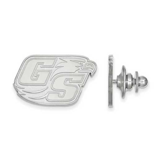 SS010GSU: SS LogoArt Georgia Southern University Lapel Pin