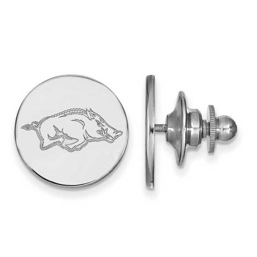 SS010UAR: SS LogoArt University of Arkansas Lapel Pin
