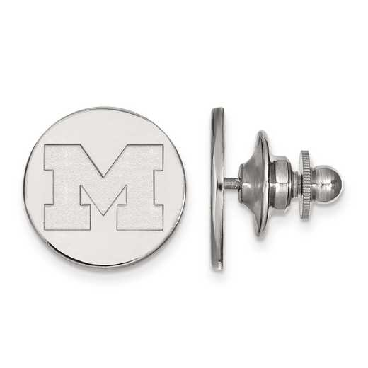 SS010UM: SS LogoArt Michigan (Univ Of) Tie Tac