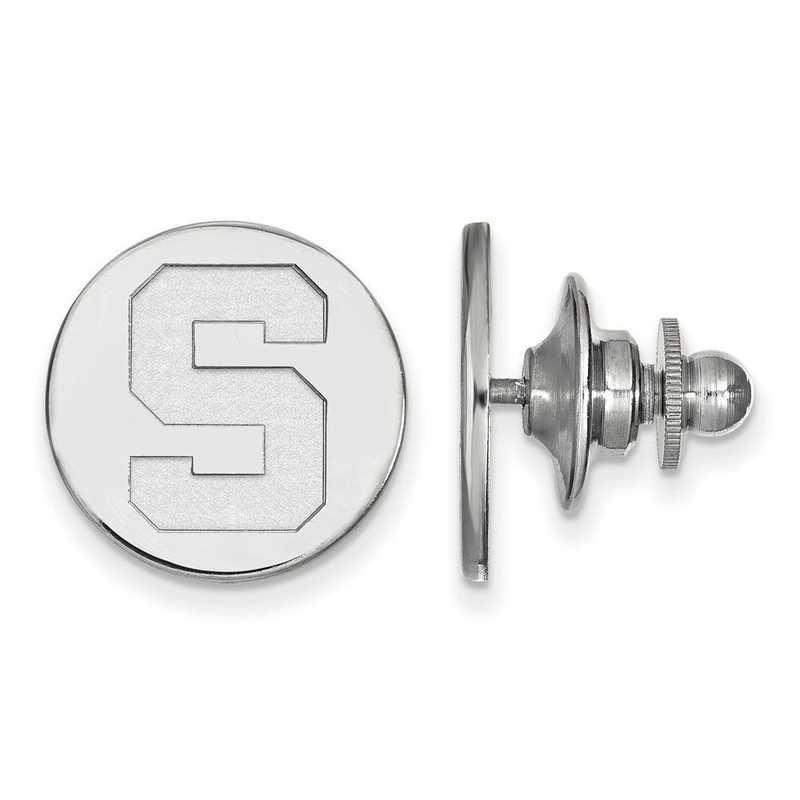 SS011MIS: SS LogoArt Michigan State University Lapel Pin