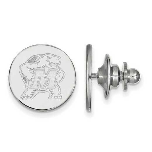 SS011UMD: SS LogoArt Maryland Lapel Pin