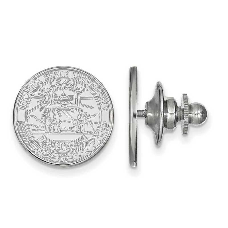 SS020WST: SS LogoArt Wichita State University Crest Lapel Pin