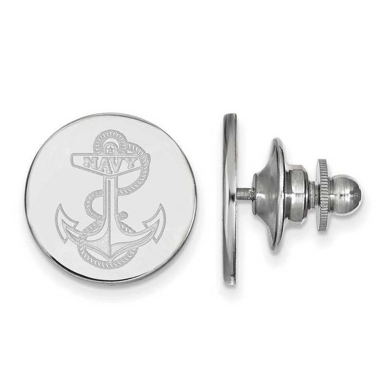SS024USN: SS LogoArt Navy Lapel Pin