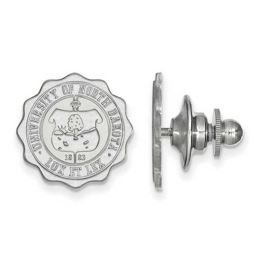 SS030UNOD: SS LogoArt University of North Dakota Crest Lapel Pin