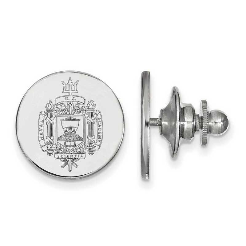 SS037USN: SS LogoArt Navy Crest Lapel Pin