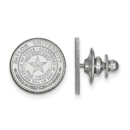 SS039BU: SS LogoArt Baylor University Crest Lapel Pin