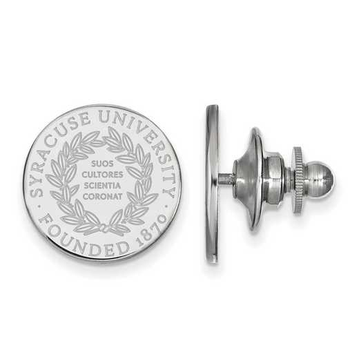 SS040SYU: SS LogoArt Syracuse University Crest Lapel Pin