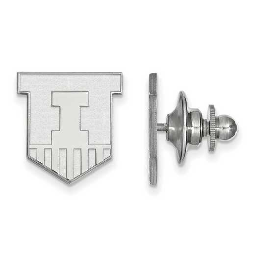 SS051UIL: SS LogoArt University of Illinois Lapel Pin