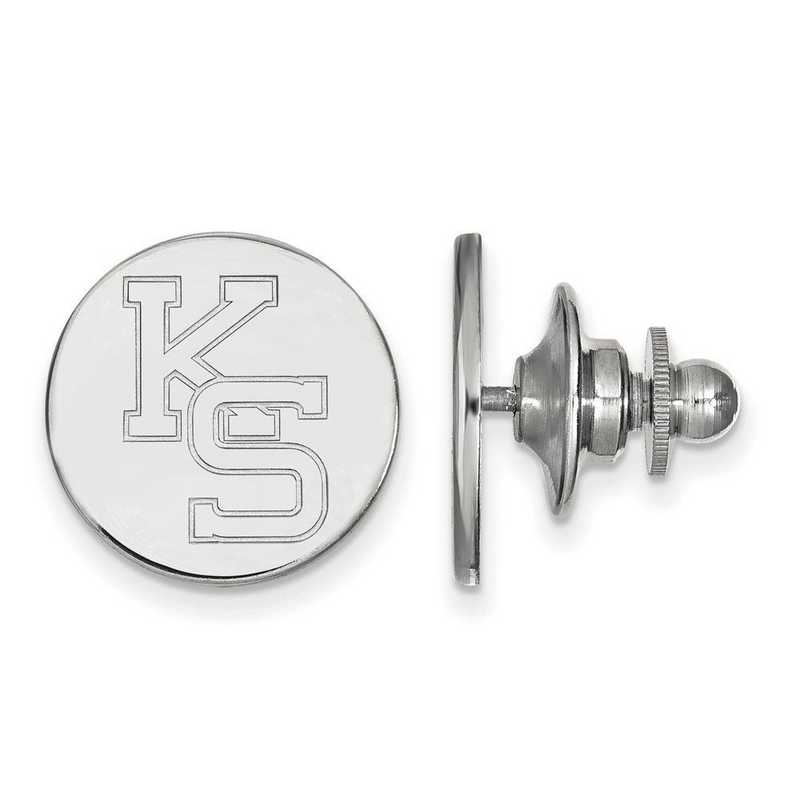 SS052KSU: SS LogoArt Kansas State University Lapel Pin