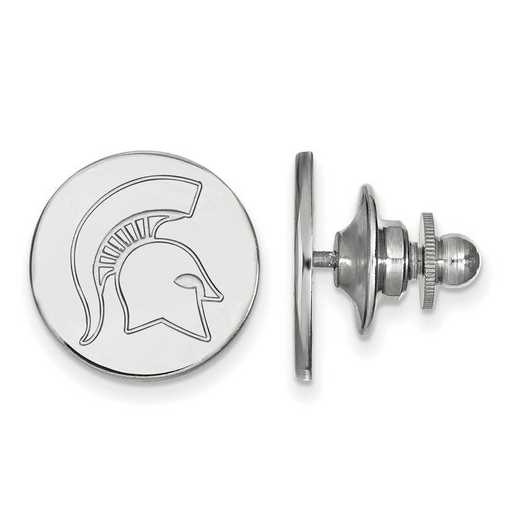 SS052MIS: SS LogoArt Michigan State University Lapel Pin