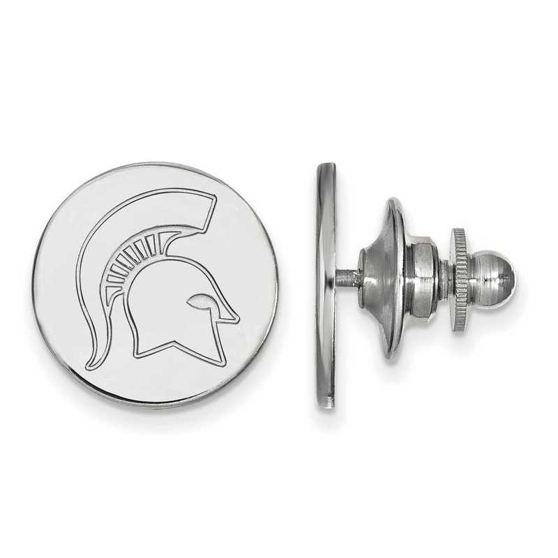 SS052MIS: SS LogoArt Michigan State University Lapel Pin