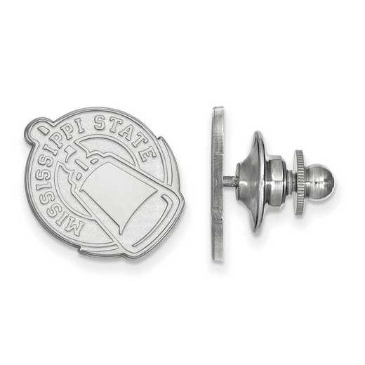 SS052MSS: SS LogoArt Mississippi State University Lapel Pin