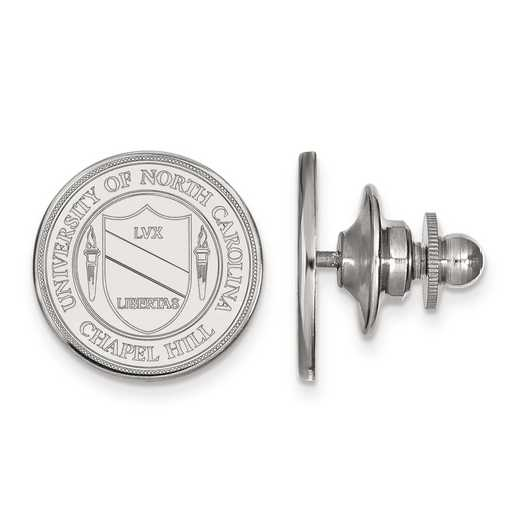 SS059UNC: SS LogoArt University of North Carolina Crest Tie Tac