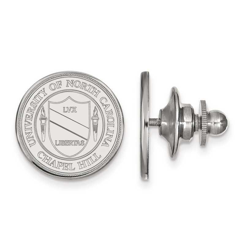 SS059UNC: SS LogoArt University of North Carolina Crest Tie Tac