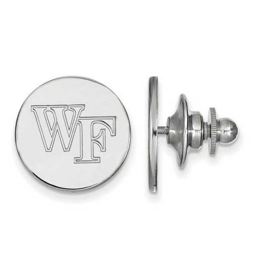 SS071WFU: SS LogoArt Wake Forest University Lapel Pin