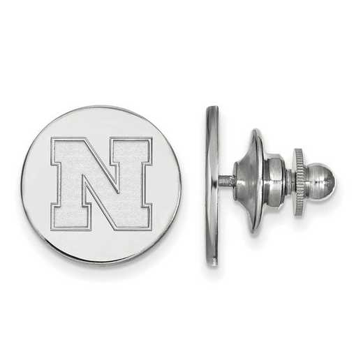 SS072UNE: SS LogoArt University of Nebraska Disc Lapel Pin
