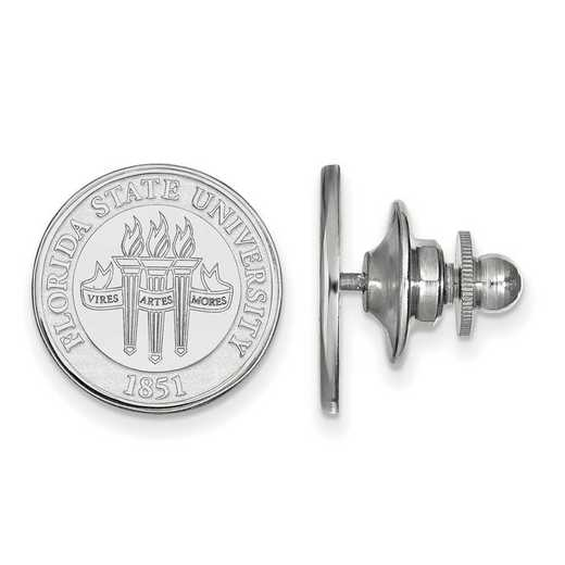 SS079FSU: SS LogoArt Florida State University Crest Lapel Pin