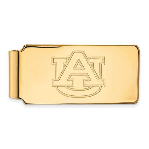GP025AU: 925 YGFP Auburn Money Clip