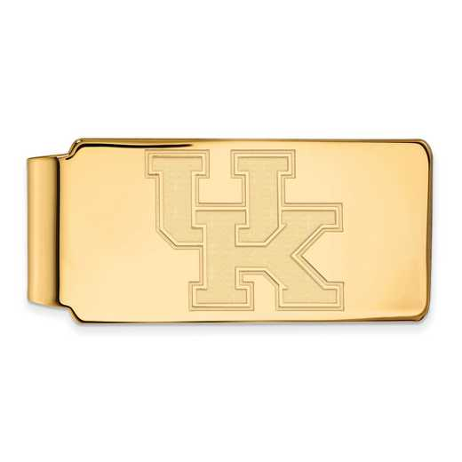 GP025UK: 925 YGFP Kentucky Money Clip