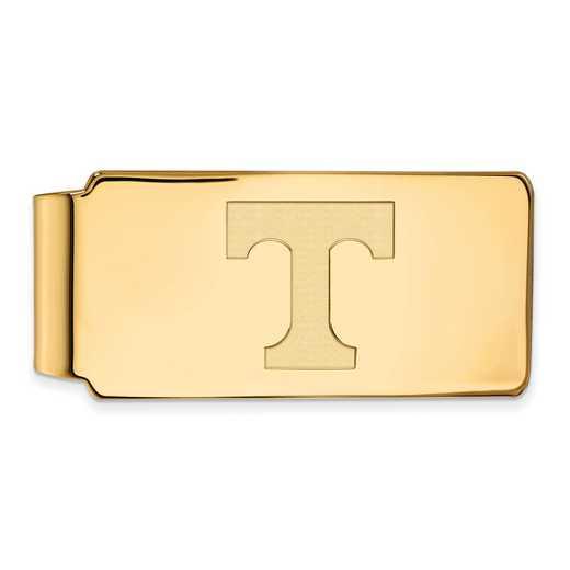 GP025UTN: 925 YGFP Tennessee Money Clip