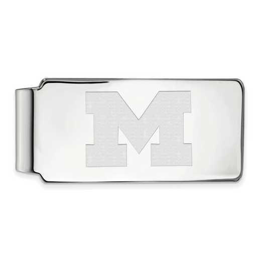 SS024UM: 925 Michigan Money Clip