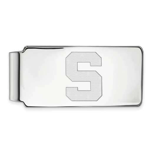 SS025MIS: 925 Michigan State Money Clip