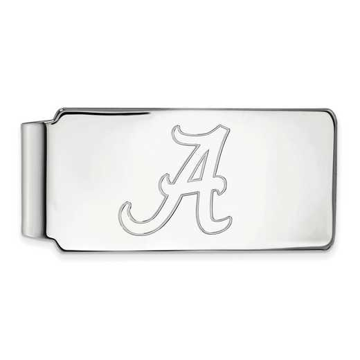 SS025UAL: 925 Alabama Money Clip