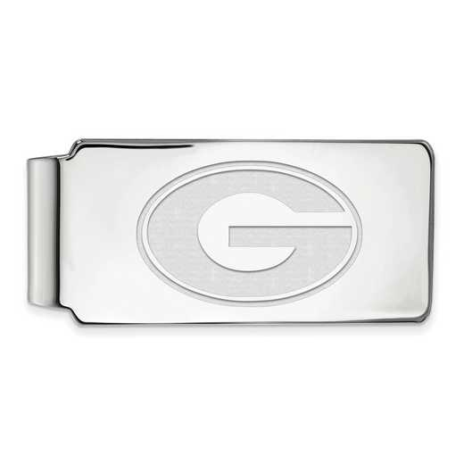 SS025UGA: 925 Georgia Money Clip