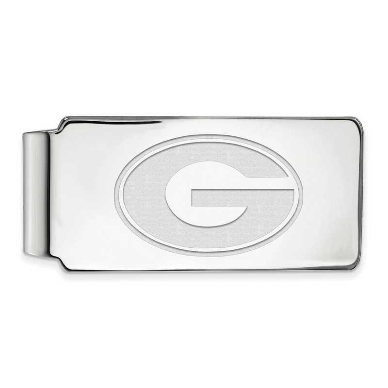 SS025UGA: 925 Georgia Money Clip