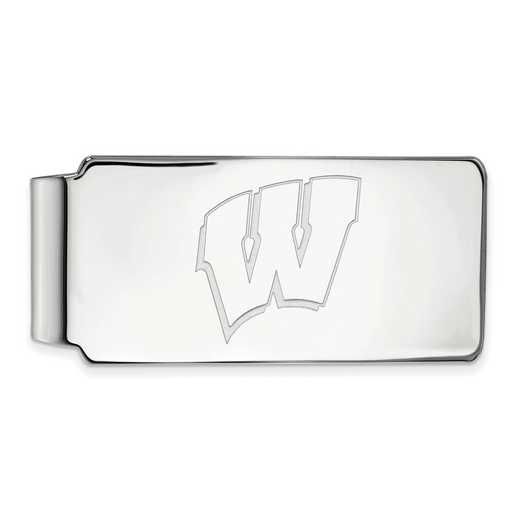 SS025UWI: 925 Wisconsin Money Clip