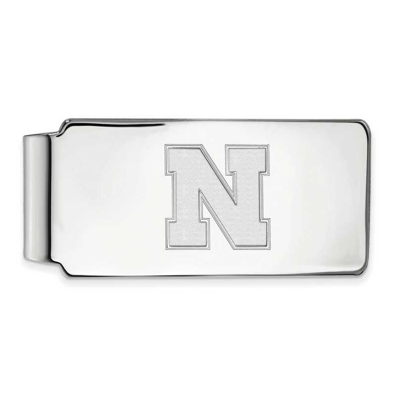 SS052UNE: 925 Nebraska Money Clip