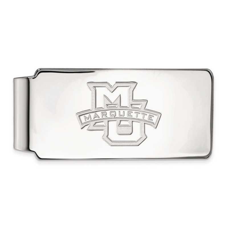 SS009MAR: SS LogoArt Marquette Univ Money Clip