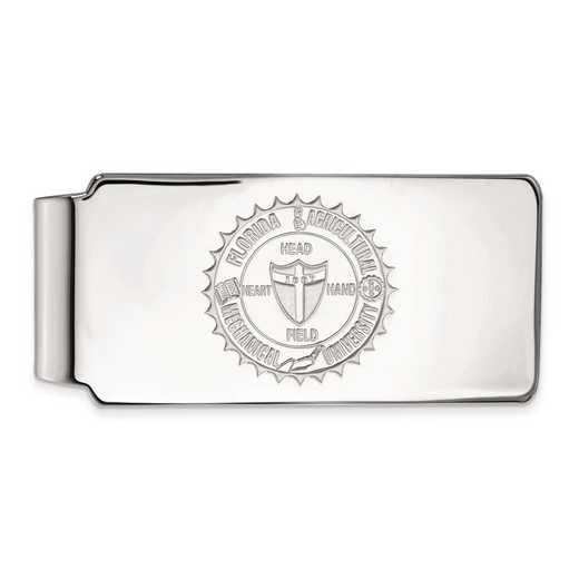 SS016FAM: SS LogoArt Florida A&M Univ Money Clip Crest