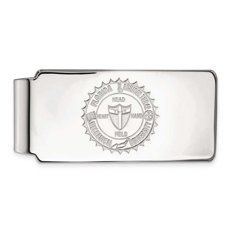 SS016FAM: SS LogoArt Florida A&M Univ Money Clip Crest